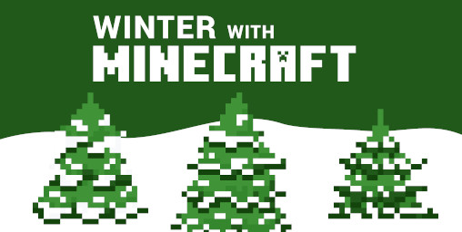 Winter with Minecraft